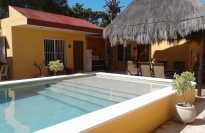 Casitas Accross Pool